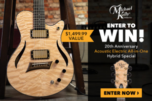 Premier Guitar – Michael Kelly 20th Anniversary Hybrid Special – Win Michael Kelly 20th Anniversary Hybrid Special Value $1499.99