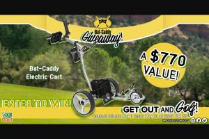 Rock Bottom Golf – Bat-Caddy Giveaway Sweepstakes