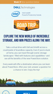 Spiceworks – Dell's Storage Virtual Road Trip – Win one $25.00 Amazon Gift Card