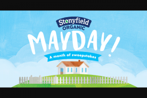 Stonyfield – Organic Mother Of All Sweepstakes