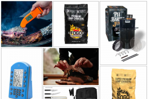 """Thermoworks – 2020 National Bbq Month Giveaway – Win one each of the following (Total Approximate Retail Value of $1814.72) One 14"""" Pit Barrel Cooker Junior ($249.99 value) Includes 1 14″ Steel Drum/Lid"""