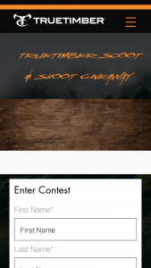 Truetimber – Scoot & Shoot Giveaway Sweepstakes
