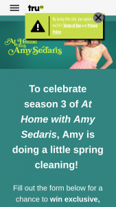 Turner Entertainment Networks – Trutv At Home With Amy Sedaris Season 3 Sweepstakes