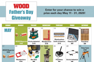 Wood Magazine – Father's Day Giveaway Sweepstakes