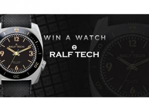 Worldtempus – Ralf Tech Wrb First Edition Watch Sweepstakes
