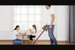 Digital Trends – Roborock H6 Cordless Vacuum – Win ?(1) Roborock H6 Cordless Vacuum (MSRP of $449.99)