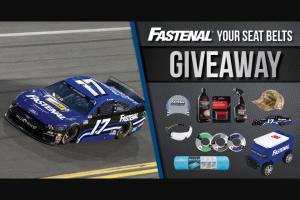 Fastenal Racing – June 2020 Giveaway – Win (1) Fastenal Racing Hat One (1) Chris Buescher 2020 Fastenal No