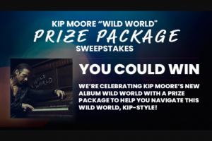 Iheart Crook & Chase – Kip Moore Wild World Prize Package Sweepstakes