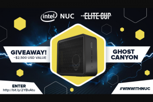 Intel – Nuc Extreme Giveaway – Win shall consist of one Intel Ghost Canyon NUC