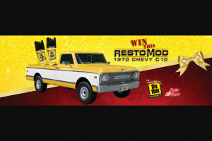ITW Global Tire Repair – Autozone/fix-a-flat 1970 Chevy C10 Sweepstakes