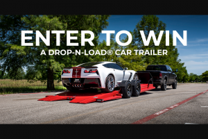 Maxx-D Trailers – Drop-N-Load Giveaway Sweepstakes