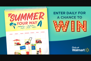 Mondelez Global – Summer Your Way Sweepstakes