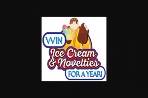 National Frozen & Refrigerated Foods – Ice Cream For A Year Coupon Giveaway Sweepstakes