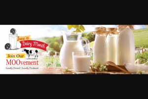 Prairie Farms Dairy – Dairy Month – Win win a dairywin $100 dairywin the eddyline