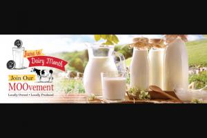 Prairie Farms Dairy – Dairy Month – Win win a dairywin $100 dairywin the eddyline