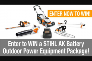Pro Tools Review – Stihl Ak Battery Ope Package Tool Giveaway Sweepstakes