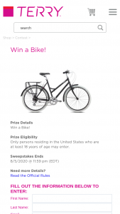 Terry Bicycles – Bike – Win a Terry Bicycle
