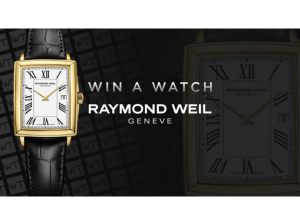 Worldtempus – Raymond Weil Toccata Watch Sweepstakes