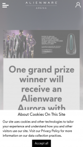 Alienware Arena – Alienware Aurora Liquid Cooled July 2020 – Win USD) and 10 runner up winners a Saints Row 3 Remastered game key (ARV $39.99 USD).
