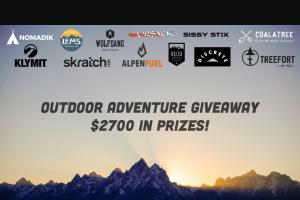 Alpen Fuel – Outdoor Adventure Giveaway Sweepstakes