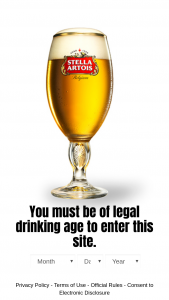 Anheuser-Busch – Stella Artois Summer Like You're On A Staycation – Win (1 total) One (1) television one (1) AR headset and one (1) $50 Doordash gift card