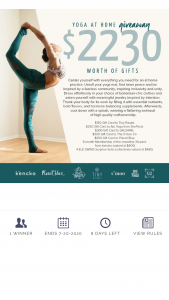 Babaji Central – Yoga At Home Giveaway Sweepstakes