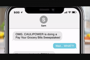 Caulipower – Pays Your Grocery Bills – Win twenty-four (24) FREE CAULIPOWER product coupons