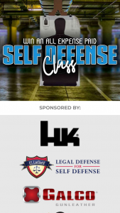Charge Media Partners – 2020 Self-Defense Sweepstakes