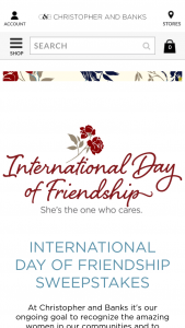 Christopher & Banks – Day Of Friendship Sweepstakes