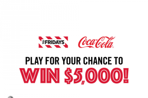 Coca-Cola -Tgi Fridays Win With Fridays Sweepstakes