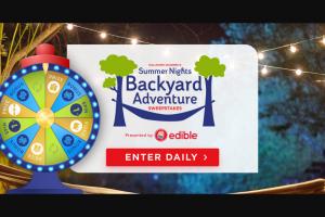 Crown Media Hallmark Channel – Summer Nights Backyard Adventure Sweepstakes