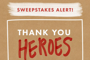 Dearfoams – Nominate A Hero Sweepstakes