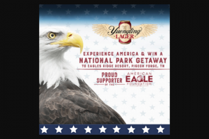 Dg Yuengling & Son – Yuengling National Parks Getaway – Win ONE $4000.00 Gift Card to Eagles Ridge Resort in Pigeon Forge
