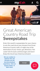 Dish – Great American Country Road Trip Sweepstakes