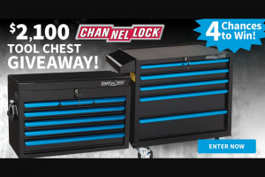 Do It Best Corp – $2100 Channellock Tool Chest Giveaway – Win for any reason or c) has violated therulesof the giveaway