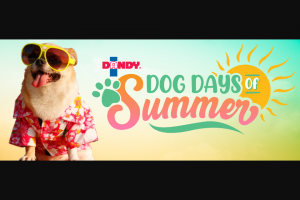 Duda Farm Fresh Foods – Dog Days Of Summer Sweepstakes