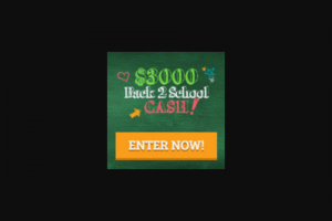 Frankly Media – $3000 Back-2-School Cash – Win consisting of a cash award in the amount of three thousand US Dollars (US$3000).