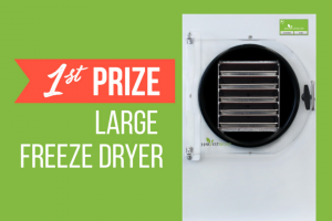 Harvest Right – Win A Large Home Freeze Dryer – Win $1200 USD toward the purchase of a freeze dryer
