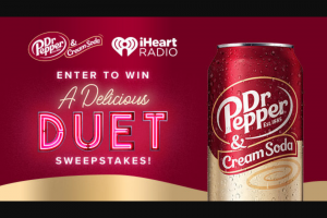 Iheartmedia – A Delicious Duet Sweepstakes