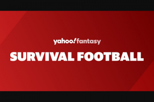 Oath Yahoo Sports – Survival Football Mgm Resorts Contest Sweepstakes