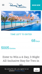 Panama Jack Resorts – Sea You Soon Sweepstakes
