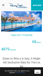 Panama Jack Resorts – Sea Your Soon Sweepstakes