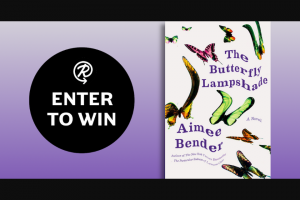 Penguin Random House – The Butterfly Lampshade – Win a copy of The Butterfly Lampshade by Aimee Bender