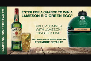 Pernod Ricard – Jameson Big Green Egg – Win Total Winner) – Jameson Big Green