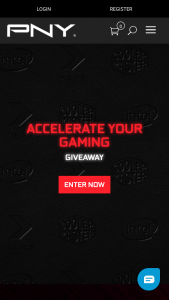Pny – Accelerate Your Gaming Giveaway Sweepstakes