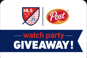 Post Cereals – Mls Watch Party Giveaway Sweepstakes