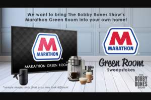 Premiere Networks – The Bobby Bones Show's Marathon Green Room Sweepstakes