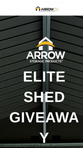 Shelterlogic – Elite Shed – Win one Arrow Storage Products ELITE SHED