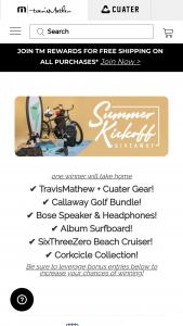 Travismathew – Summer Kickoff Giveaway Sweepstakes