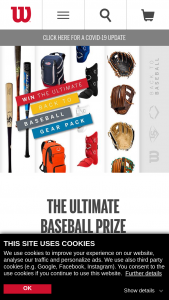 Wilson Sporting Goods – Back To Baseball Sweepstakes